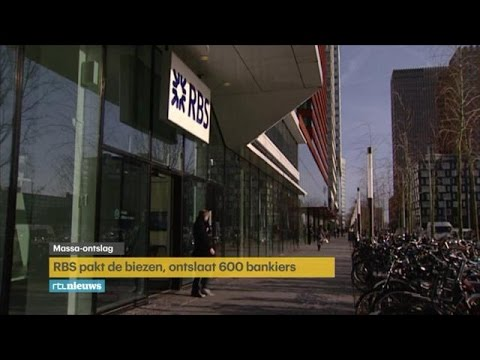 Royal Bank of Scotland weg uit Nederland - RTL NIEUWS