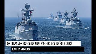 Militar News #85 – China Construiu 20 Destróieres Em 7 Anos
