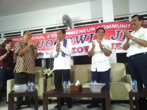 Jokowi diskusi dengan pengusaha Jakarta