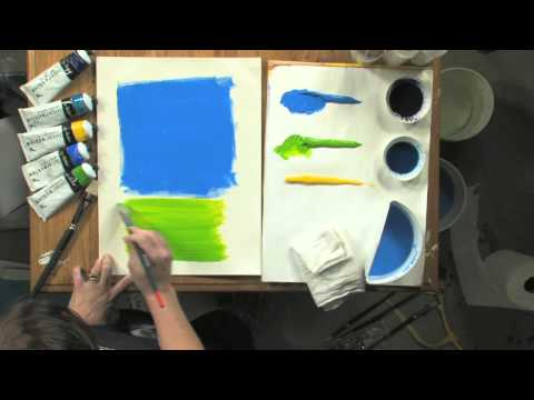 How to Paint a Colorfield