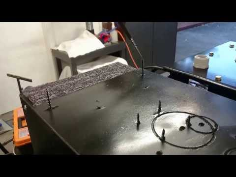 Homemade Industrial Robot – Pin Test
