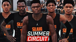 "NBA 2K19 MyCareer ""Summer Circuit"" #6 - Team Next Up Is INSANE! Zion & Ja Both Get DOUBLE-DOUBLES!!"