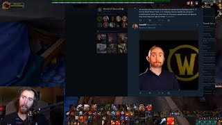 Crusader Has A Mental Breakdown, Asmongold Reacts (Daily WOW #105)