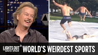 Even More of the World's Strangest Sports (feat. Bob Menery) - Lights Out with David Spade