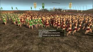 Rome Total War XGM Online Battle # 2 Sparta vs Athens