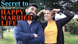 Secret to HAPPY MARRIED LIFE || Unexampled Inderaj