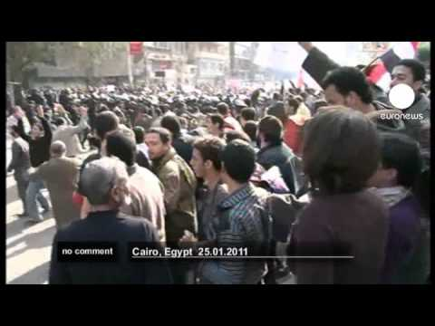 Massive Egypt protests - no comment