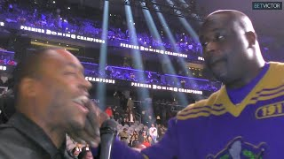 "Shaquille O'Neal PUNCHES Radio Rahim ""What Kinda Question is THAT?!"""