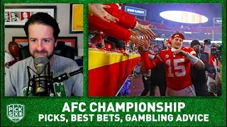AFC Championship Picks, Best Bets, Gambling Advice for Titans-Chiefs I Pick Six Podcast