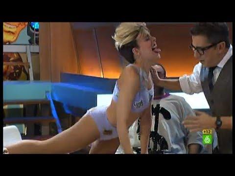En el aire - 'Miley Cirios' la monta en el plató de 'En el aire'