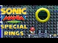 All Chemical Plant Special Rings | Encore Mode | Sonic Mania Plus