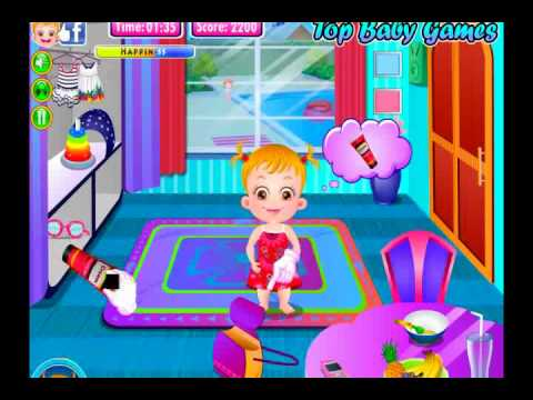 Baby Hazel Swimming Time,  Baby Gameplay video