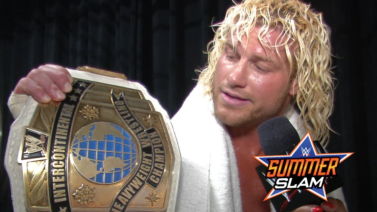 Dolph Ziggler comments on winning the Intercontinental Championship ... Dolph Ziggler World Heavyweight Champion