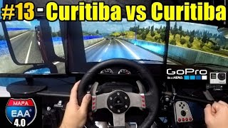 🔴► Euro Truck Simulator 2 - Brasil EAA 4.0 #13 Parte - G27 - Triple Screen - Nvidia Surround