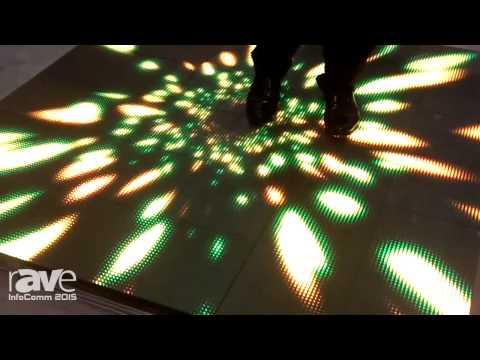 InfoComm 2015: Shenzhen Jonsung Demonstrates Floor LED Display