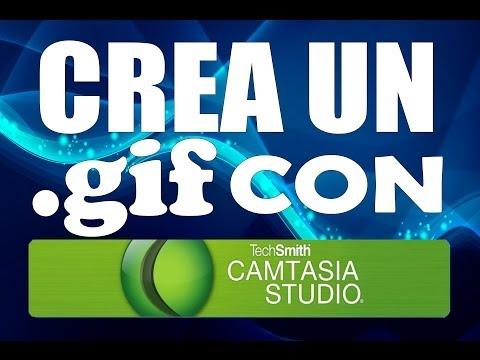 Crea un .gif con Camtasia Studio 7.1.1