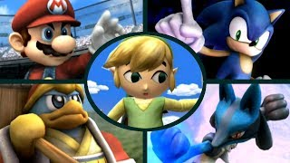 Super Smash Bros. Brawl - All Character Intros