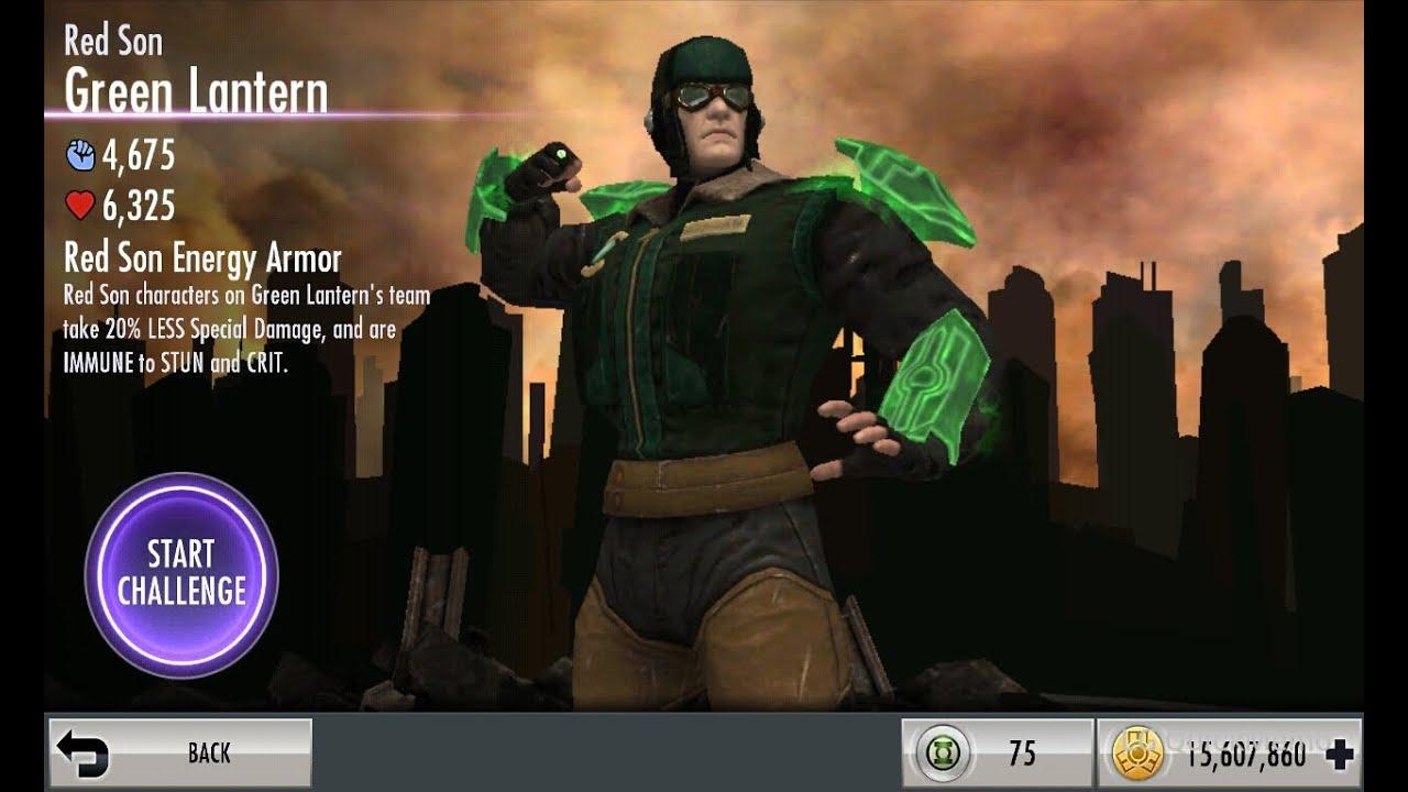 Red Son Green Lantern Challenge The Red Son Green Lantern