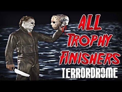 Terrordrome - ALL Trophy Finishers! (Trophy/Fatality)
