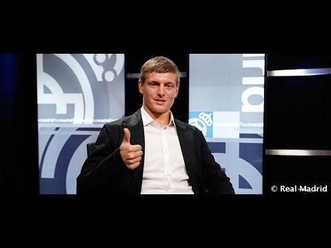 Entrevista a Toni Kroos en Realmadrid TV