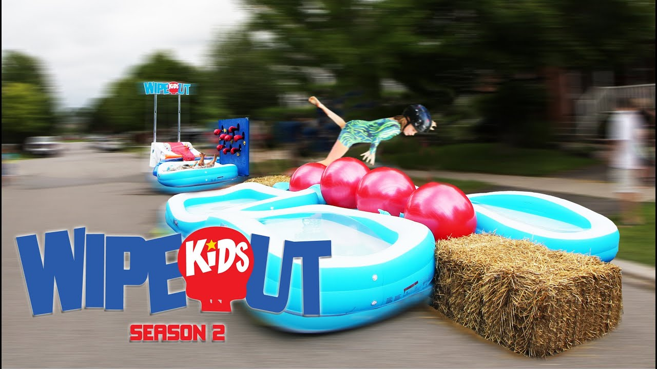 Wipeout Kids Birthday Party