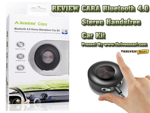 CARA Bluetooth 4.0 Stereo Handsfree Car Kit