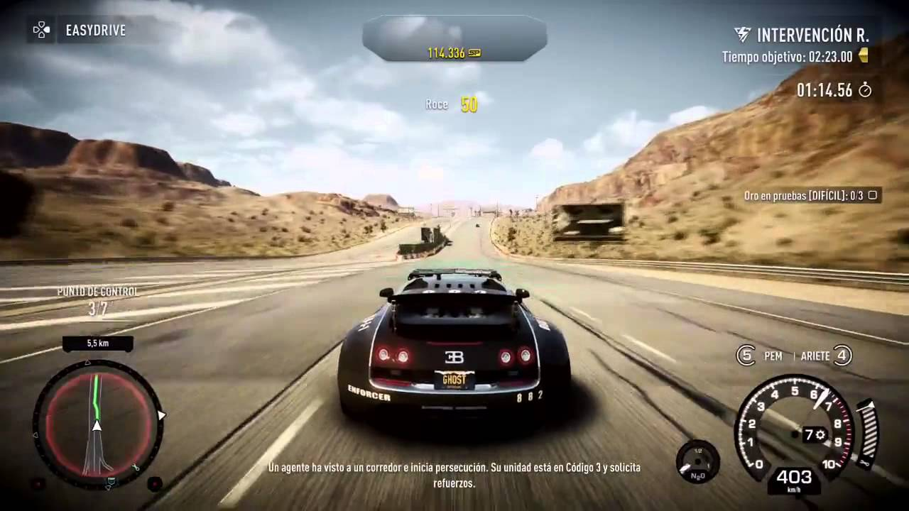 need for speed rivals bugatti veyron gameplay castellano ps4 720p hd record de 415km h. Black Bedroom Furniture Sets. Home Design Ideas