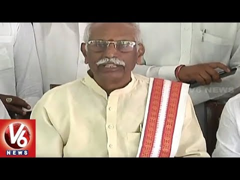 Former Minister Bandaru Dattatreya Criticize TRS Over Panchayat Elections | V6 News