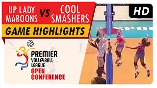 Lady Maroons vs. Cool Smashers | PVL Open Conference | Game Highlights | July 22, 2017