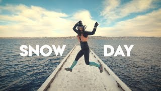 SEATTLE SNOW DAY | The Ginger Runner