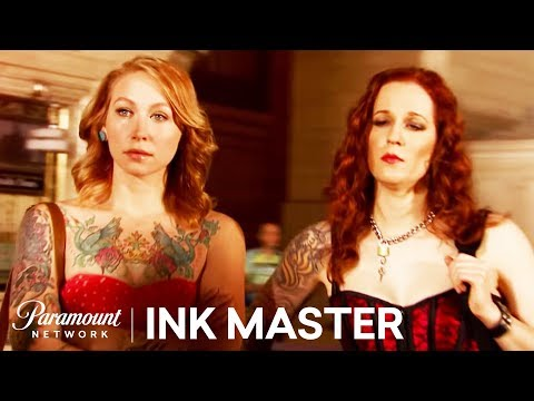 Ink Master, Season 5: Meet Your Rival: Julia Carlson vs. Caroline Evans