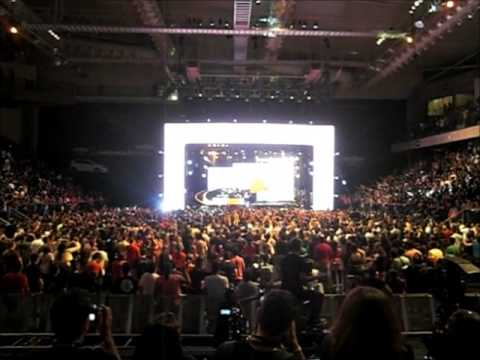 Rosa de Saron - FINAL DO SHOW DVD Latitude Longitude 05 04 2013