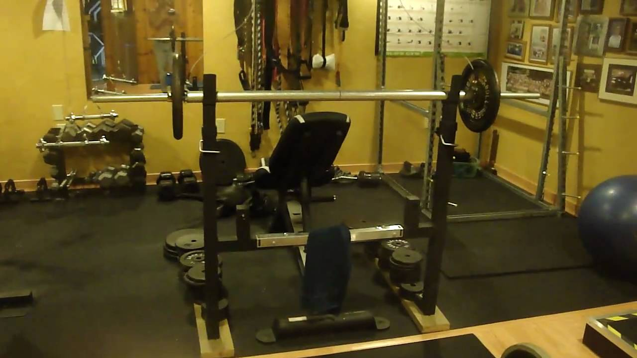 Make your own home gym youtube for How to create a home gym