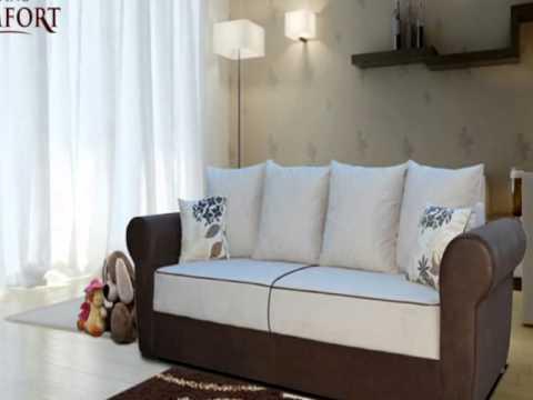 LivingComfort Big Sofa im kolonialstil - YouTube
