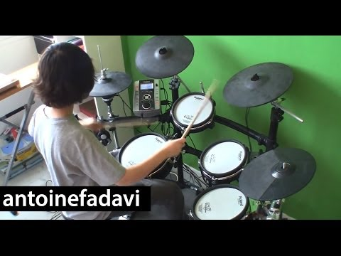 Antoine - Rise Against - Satellite (drum Cover) video