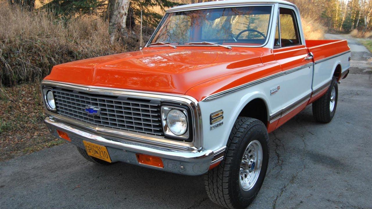 1972 Chevrolet K20 Super Cheyenne Restomod 6 0l Lq4 Ls
