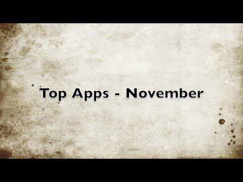 Top Apps - November