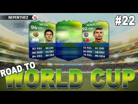 LIONEL MESSI!! FIFA 14 Ultimate Team - Road to World Cup #22