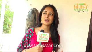 Aditi Chengappa At Moone Moonu Varthai Movie Team Interview