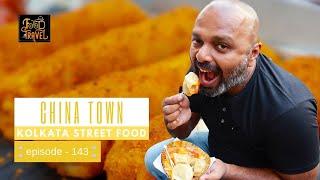Street Food in China Town, Kolkata | Kolkata Street Food Videos with English Subtitles