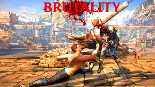 Mortal Kombat X All Johnny Cage's Fatalities, Brutalities, X Ray & Ending