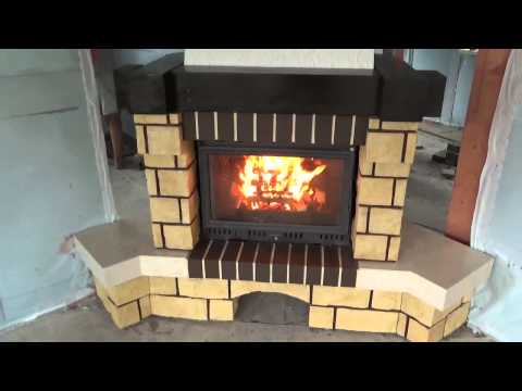 Печь в каркасном доме своими руками фото 92