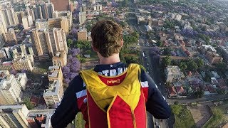 Travis Pastrana's Huge BASE Jump