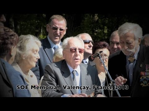 SOE F Section Commemoration Valencay, France 2013
