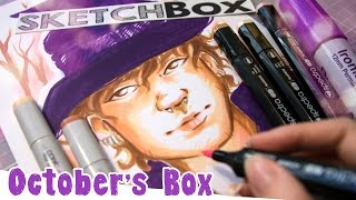 SKETCHBOX October 2016 - Fabulous Witch