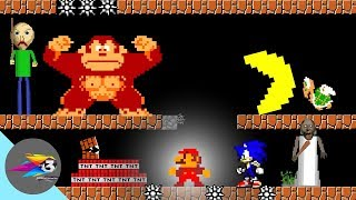 All Characters would be in Super Mario Bros