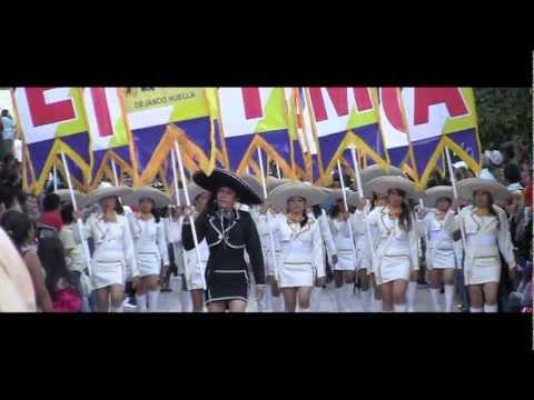 Desfile 74 Aniversario Secundaria ESIMA Teloloapan Banda Guerra Charras