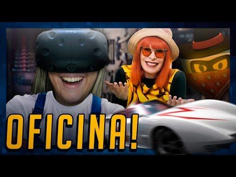 OFICINA DAS TRETAS! - Óculos de Realidade Virtual (HTC Vive Gameplay) - Job Simulator