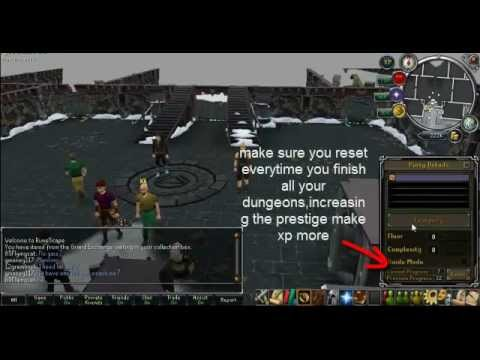 Runescape  f2p dungeoneering 1-99 quick guide