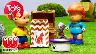 Caillou Cartoon For Kids | Caillou | Stop Motion Series | Toy Store